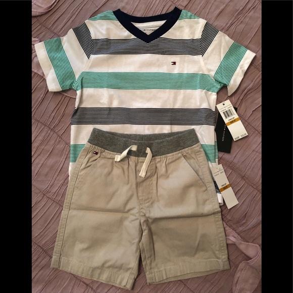 Tommy Hilfiger Matching Sets | Boys Short Set Tommy Hilfiger | Poshmark